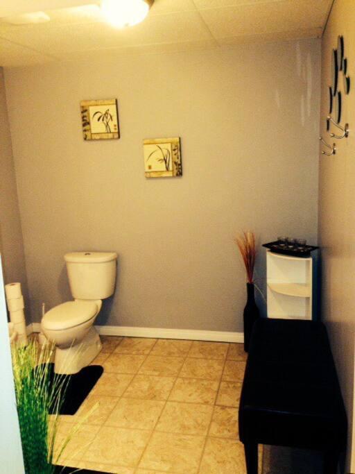 Entrance to your ensuite bathroom.