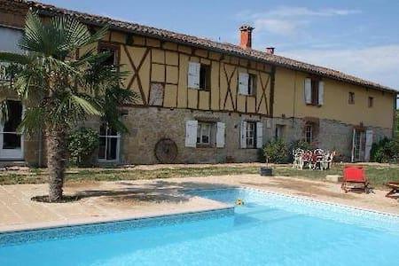 Gites avec piscine, Spa et Sauna - Teyssode