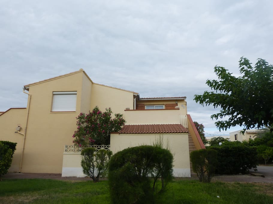 Appartement avec une terrasse