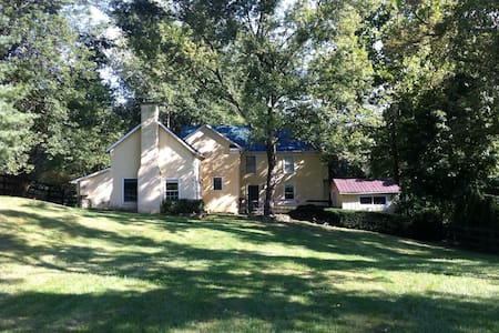 Charming VA wine country farmhouse - Delaplane - 一軒家