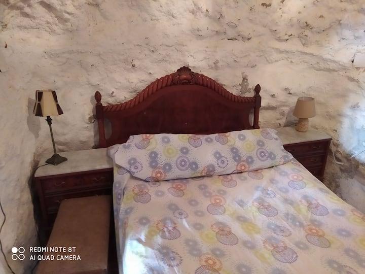 Habitación en Casa Cueva