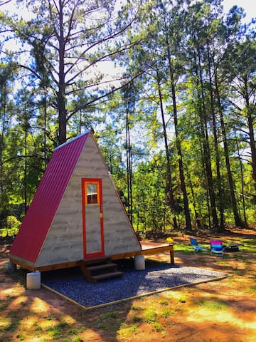 Senoia Tiny A-Frame Cottage