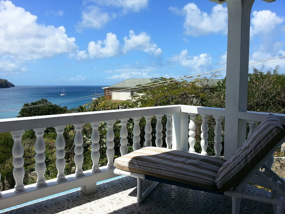 The perfect place to enjoy the beautiful Bequia
