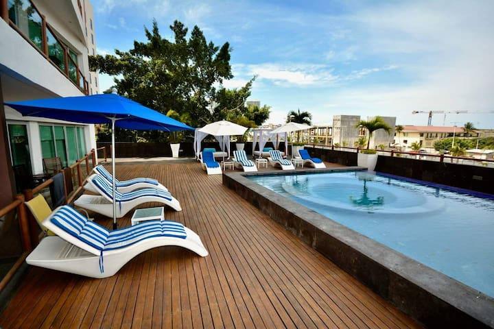 ★Hermoso, Vista a Marina y Playa.★ Exc.Ubicación 1