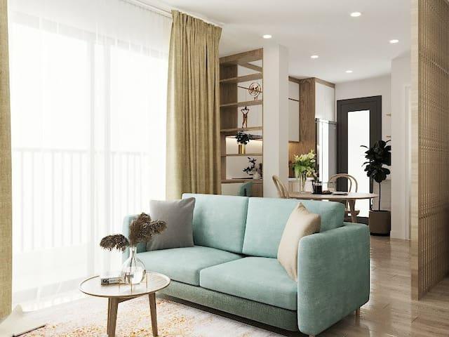 Bancông House 3 - Kim Mã Apartment - Netflix TV