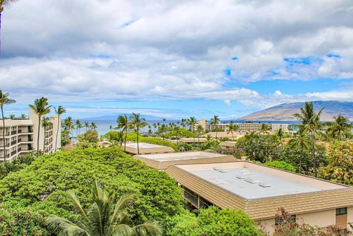 Kihei Akahi #D401-Studio Across Beautiful Beach