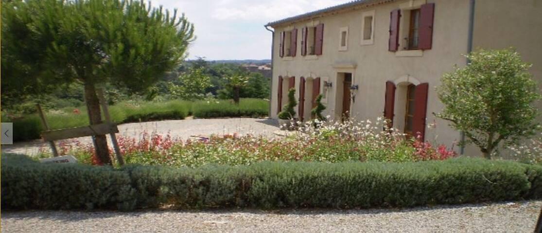 La Goutine,un coin de paradis,proche Carcassonne - Villarzel-du-Razès - Casa