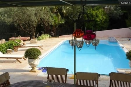 Villa, swimming&poolhouse, vue!!! - Tourrettes - Villa