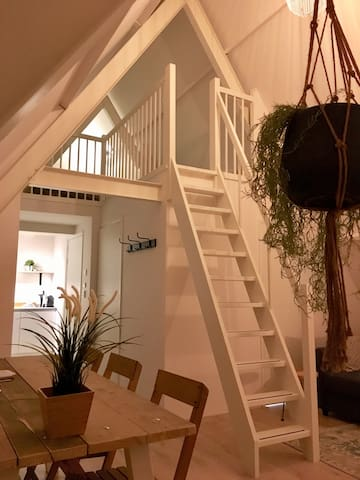Luxe topappartement in sfeervol pand