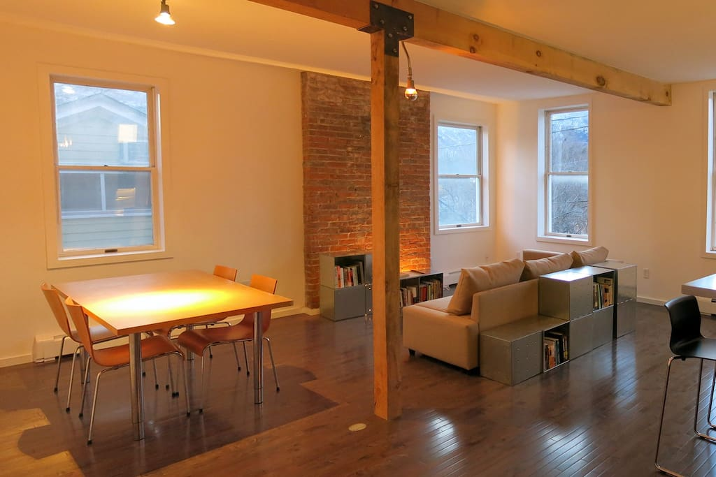 Beautiful Loft Space Apartments For Rent In Cold Spring