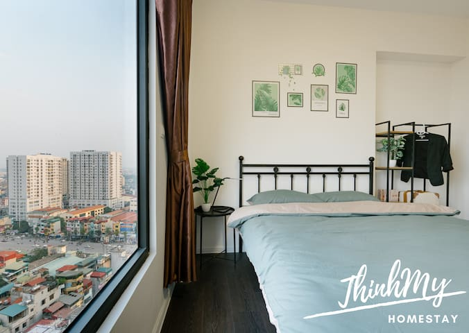 [ThinhMy home] Top of Hanoi Sky Garden view room
