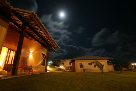 Chalet with seaveiw and roof terras - Natal - Dům