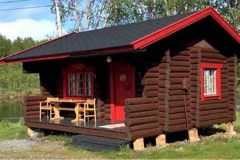 Mountain lodge cabin/Neiden river