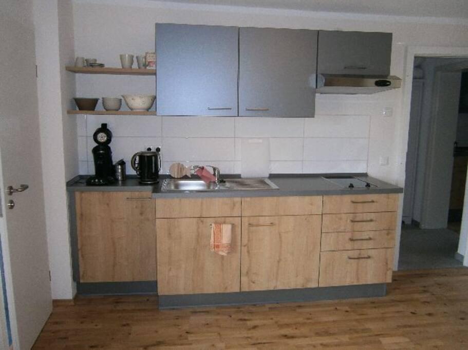 kleine Küchenzeile, ganz neu