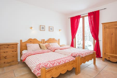 Room with breakfast in Les Houches - Les Houches - Bed & Breakfast
