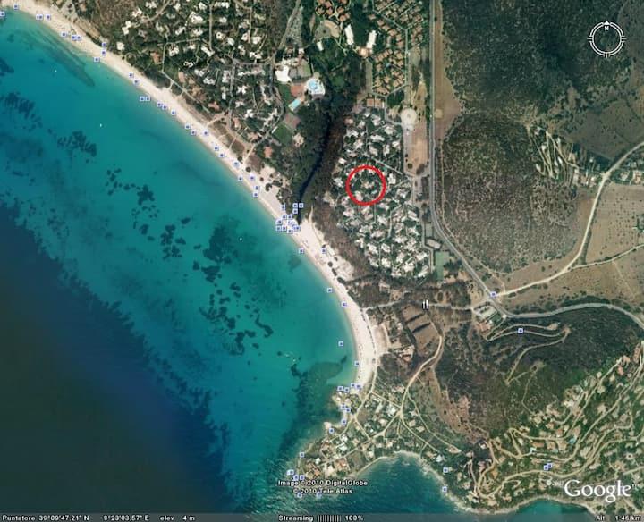 Villa sul mare a 30 km da Cagliari