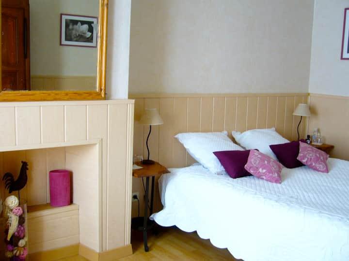 Charmantes chambres d'hôtes pour 2 pers/ P'tit dej