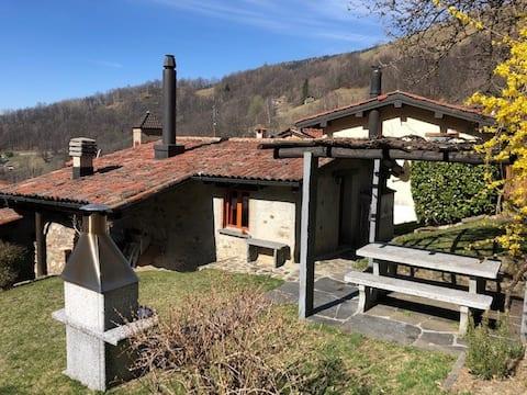 Kleines, gemütliches Rustico in Cozzo, Valcolla