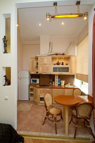 Comfortable apartment in the center