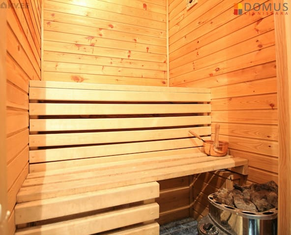 Cozy Apartment with Sauna right in the center