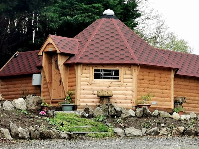 The Log Cabin at Ashleigh House.