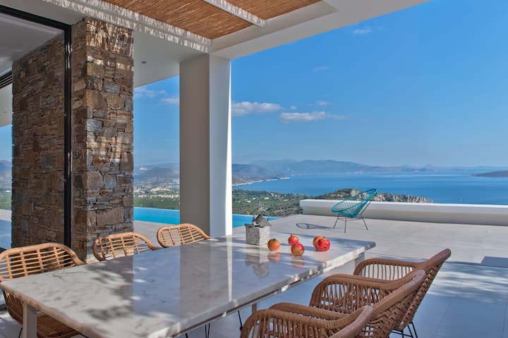 NafplioBlu - Villa for 6-8 with amazing views