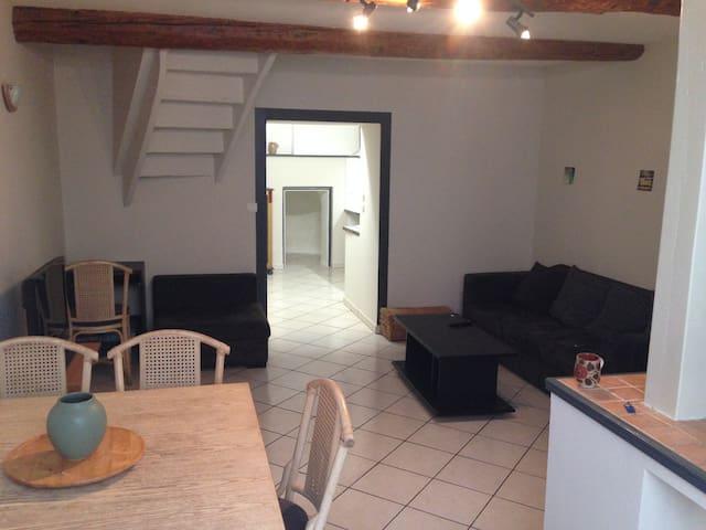 Maison 80m² - Entre mer, vignes et canal du midi - Colombiers - Таунхаус
