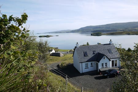 Luxury cottage, Isle of Skye - Colbost - Casa