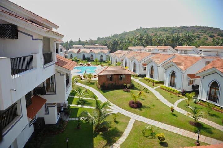 2BHK Penthouse at Anjuna Hermitage