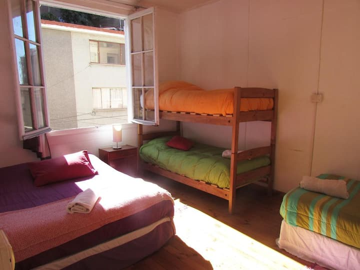 Private apartment for 5 people Cerro Concepción