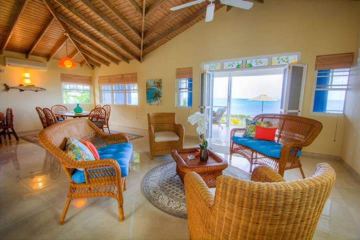 Sparrow Beach House (Carriacou) - Carriacou - Talo
