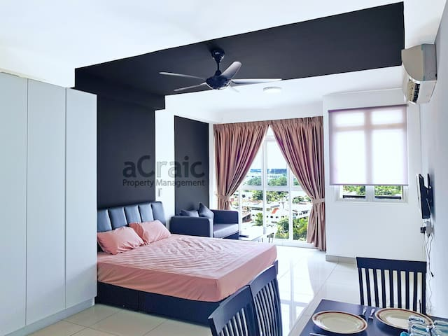 Private Comfort Studio Near Austin Tebrau Mall CIQ