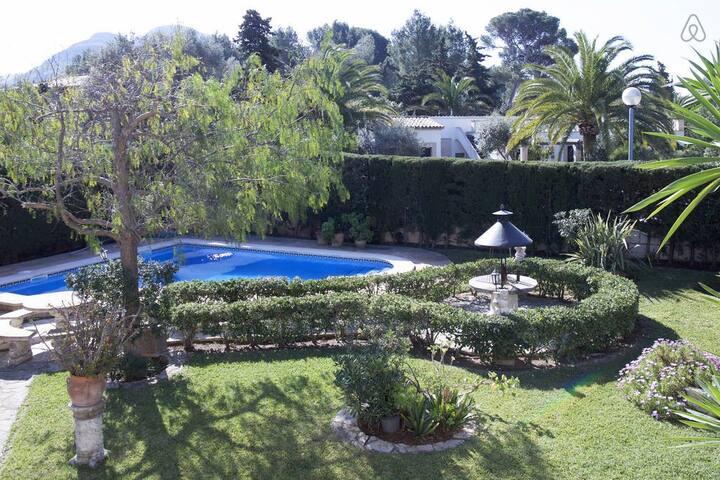Wonderfull chalet with swimming pool near the sea. - Cielo de Bonaire - Dům