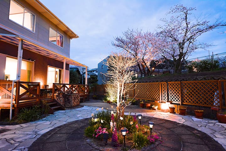 SAKURA Cottage with Garden / 4 bedrooms free WIFI - Dazaifu-shi - Casa