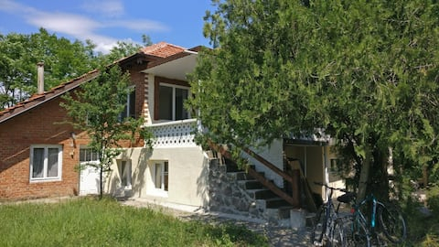 Newly renovated house in village boasting 2 hotels