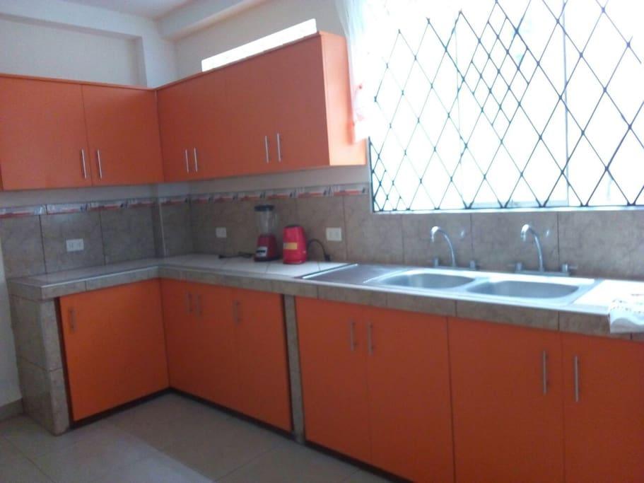 Cocina (espacio en común)