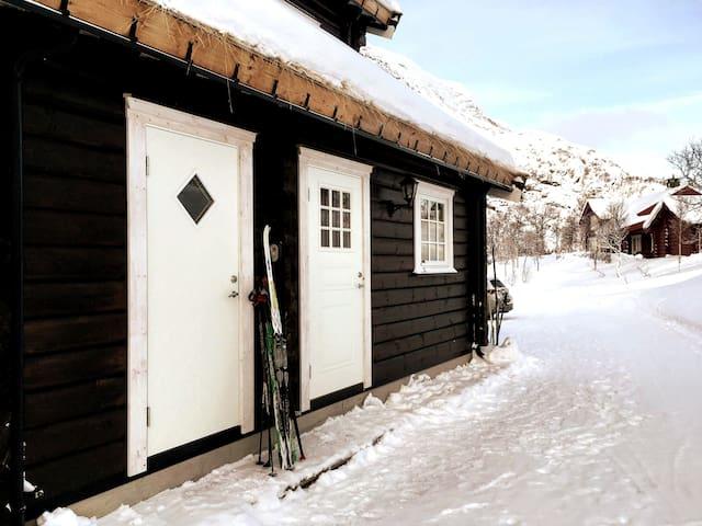 Filefjell, Tyin. Moderne hytte med god plass.