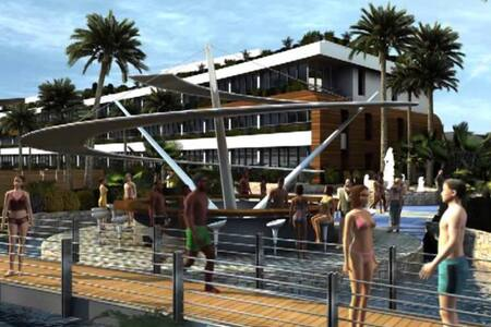 Las Salinas 5 resort cosy chalet in Anfeh
