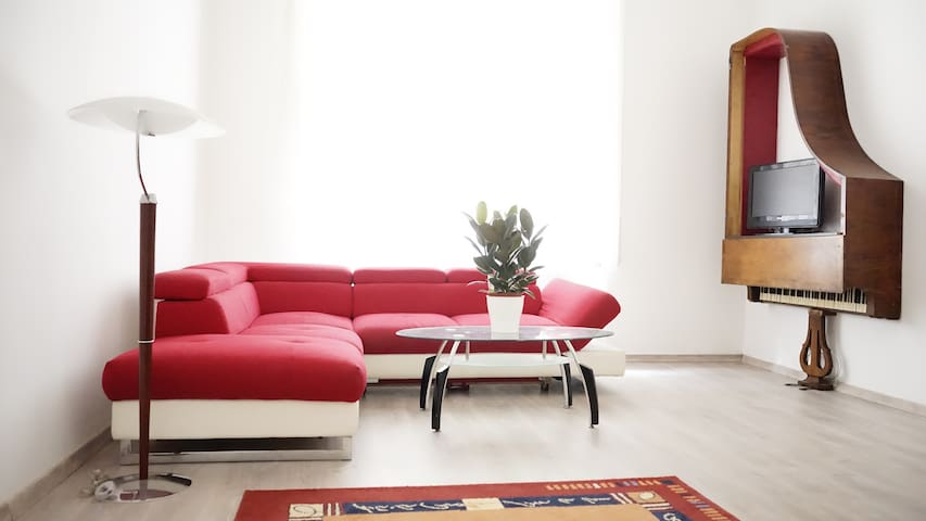 Muzicum - Spacious flat for 2+4 MUSIC LOVERS!!!
