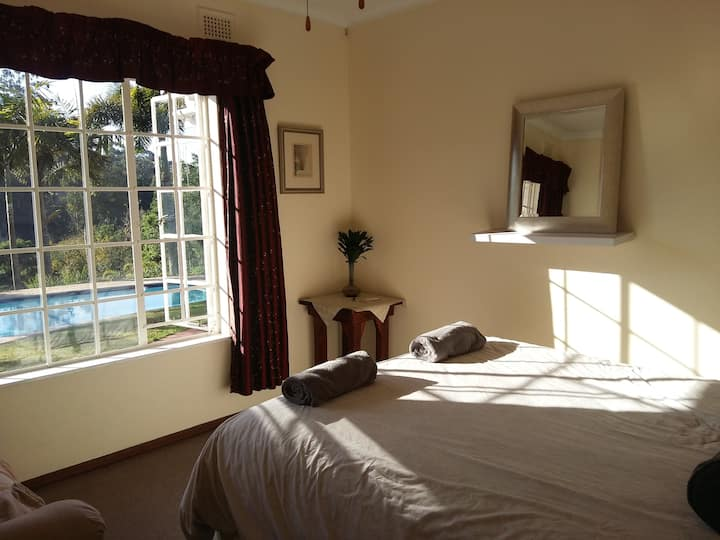 Lovely room in a friendly and secure home!