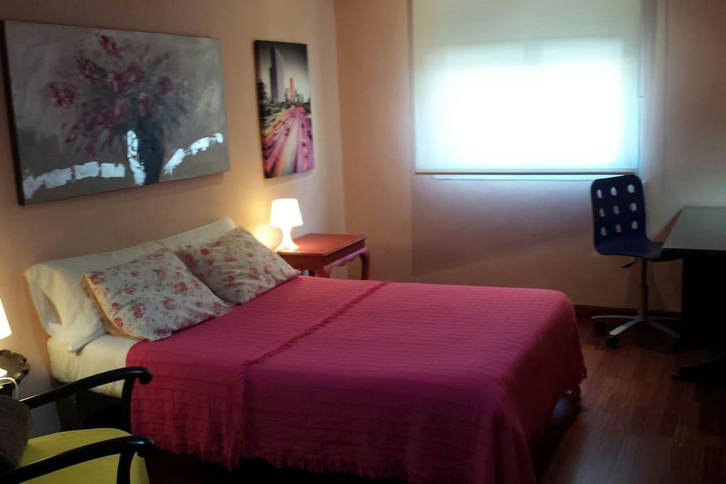 Habitacion con 2 camas unidas + 1 cama supletoria