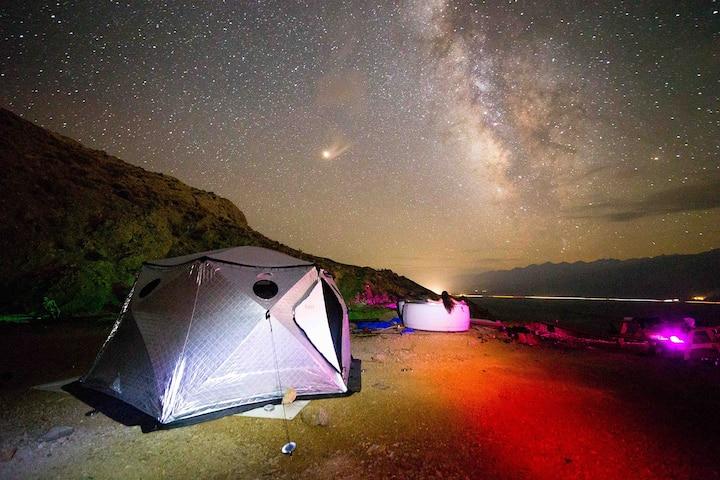 Eastern Sierra Observatory & Stargazing Glamping