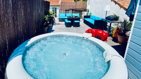 Loft Unusual Rooftop & Spa ️ ️, center of Cannes 🎮⭐⭐️⭐️ ️