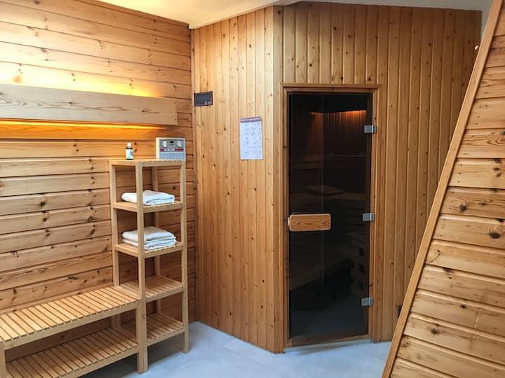 Relaxing weekend during Corona Appartement + Sauna
