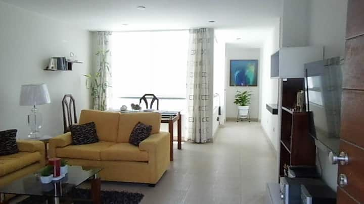Habitación privada en bello apartamento