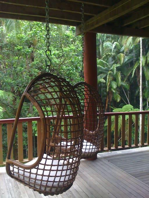 Rainforest swing