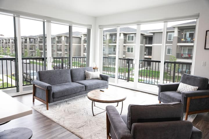 Clean Upscale 207 Downtown 2bd 2ba Apartment