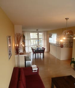 Bright appt.16 min to A'dam centre - Weesp - Appartement