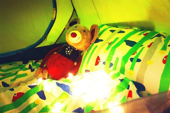 帐篷小屋 房东可以带你领略姑苏魅力 tent room sweet home as ur guide