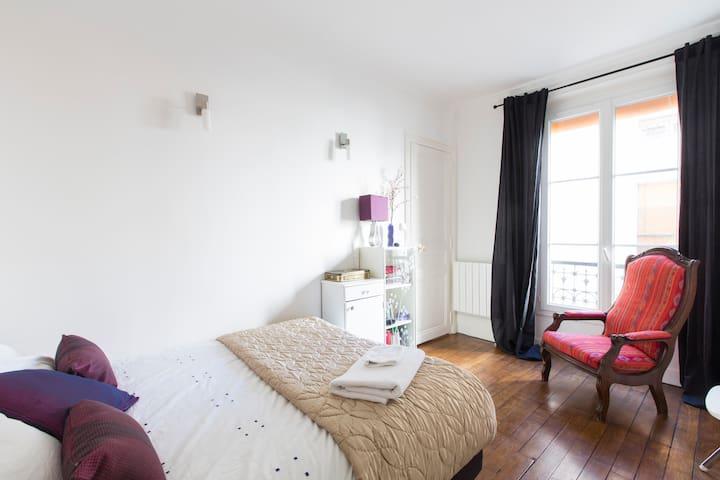 Calm and entirely new flat 45 m2  - Paris - Leilighet